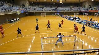 國學院栃木 - 市川 [前半]2019年2月2日(土)第31回関東高校ハンドボール選抜大会