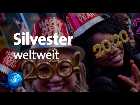 Silvester In Berlin, New York, London Und Paris