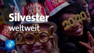 Wieder ist ein jahr vorbei - auch in deutschland feierten die menschen den beginn von 2020. größte silvesterparty des landes fand berlin am bra...