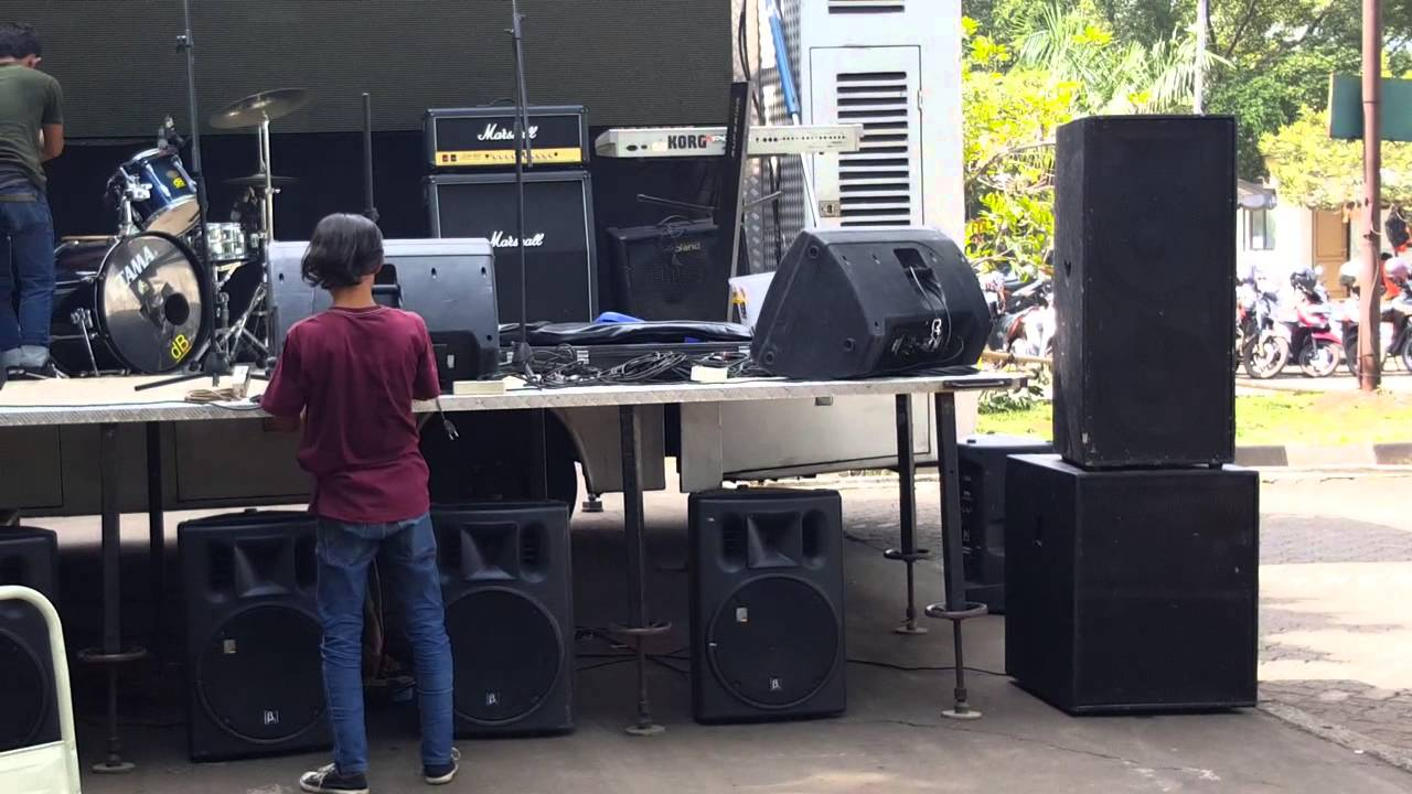 Setting sound system acara djarum super  YouTube