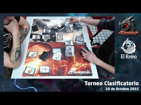 Ronda 4 - Sergio Castro vs Diego Ramos - Clasificatorio Armagedon Octubre 2015