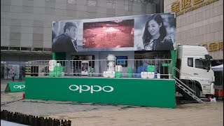 Mobile Hydraulic Promotion Trailer For SALE With LED screen for Roadshow and marketing event