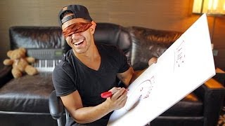 Draw Big Time Rush Challenge with Carlos PenaVega