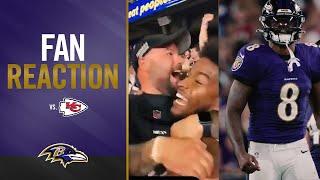 Watch M\u0026T Bank Stadium Erupt After Ravens Beat Chiefs | Baltimore Ravens