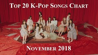 Top 20 K-Pop Songs Chart - November 2018 | CheeYoung95