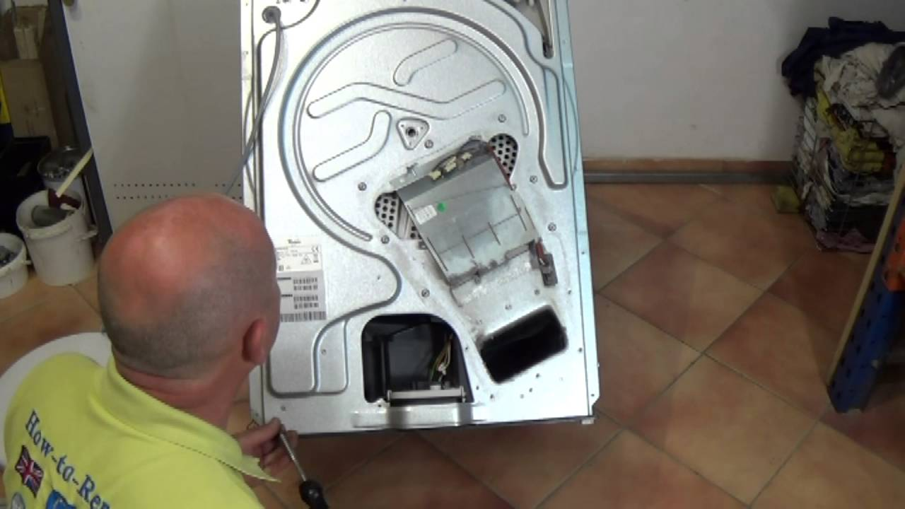 Whirlpool Tumble Dryer How To Replace Belt Bauknecht