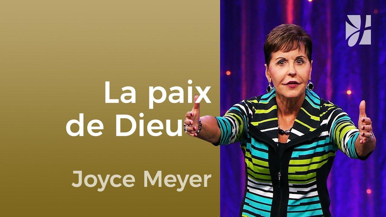 Quand nous restons en paix (1/2) - Joyce Meyer - Maîtriser mes pensées