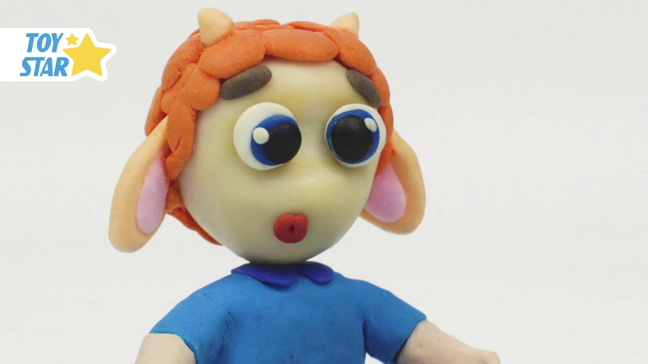 Princesa Dolly Cartoon Play Doh Stop Motion for kids #76