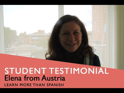 General Spanish Course Student Testimonial by Elena from Austria