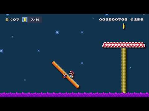 homeless 10 coins easy by homeless - Super Mario Maker 2 - No Commentary