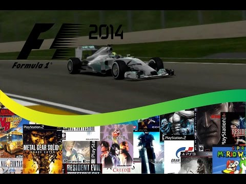 JNN Games F1 2014 grande prêmio do Brasil gameplay