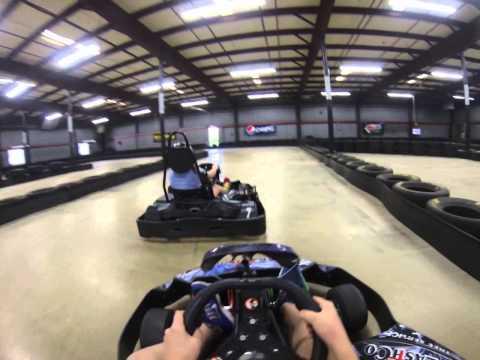 Pioneer Valley Indoor Karting 5/25/14 Heat1