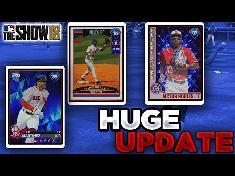 NEW DIAMONDS JD UPGRADED HUGE UPDATE *SYKE*  MLB The Show 18 Battle Royale Diamond Dynasty