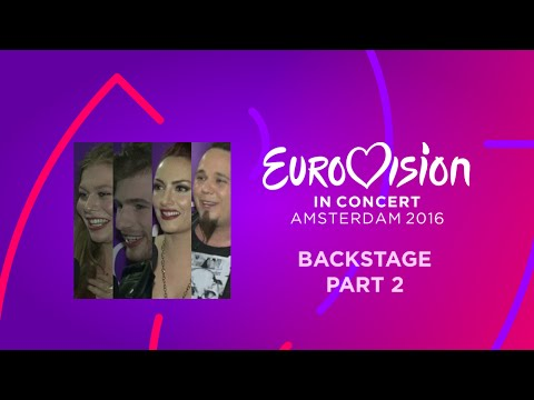 Eurovision In Concert 2016: Backstage (part 2)