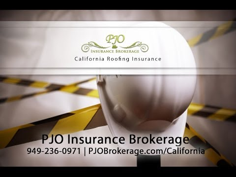 California Roofing Insurance | PJO Brokerage Orange County
