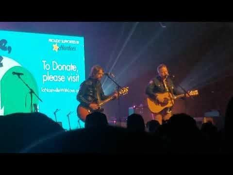 "Jason Isbell and Sadler Vaden ""What've I Done To Help"" Live Premiere #tonashvillewithlove 3/9/20"