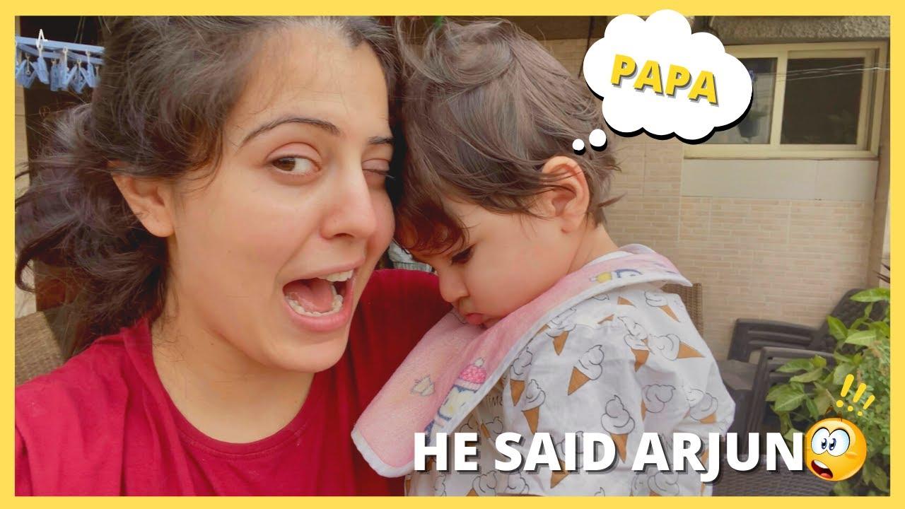 Keechoo said Arjuna 🙀   He is missing papa
