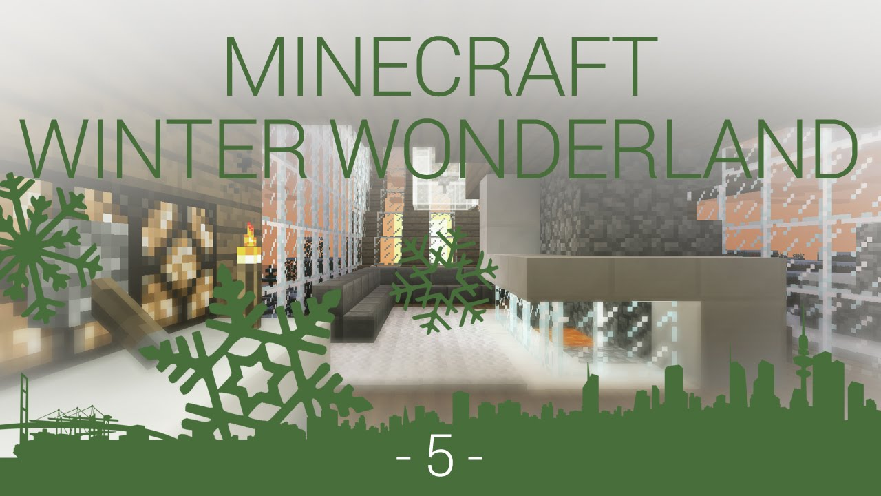 how to get a winter world in minecraft