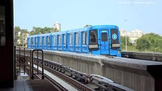Light Metro in Toronto, Canada 2018 (Line 3 - Scarborough)
