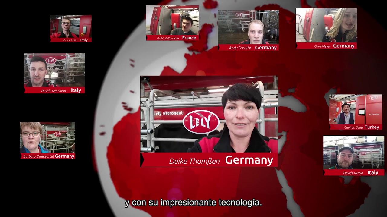 Lely Astronaut A5 – Un año de experiencia – Video 7 (ES)