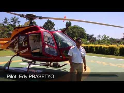 Eurocopter AS350B2 (PK-HVJ) Mount Batur Volcano flight - Bali