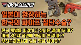 말레이시아가 재벌을? 한일관계를 넘은 한국의료? 아베의 평가기준이 한국? 부산영화제에 일본영화가?