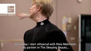 Marijn Rademaker dancing in Dutch National Ballet's Sleeping Beauty