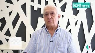 Javier Larrión, paciente tratado de Liatiasis Urinaria por los Dres. Garmendia y Rodríguez