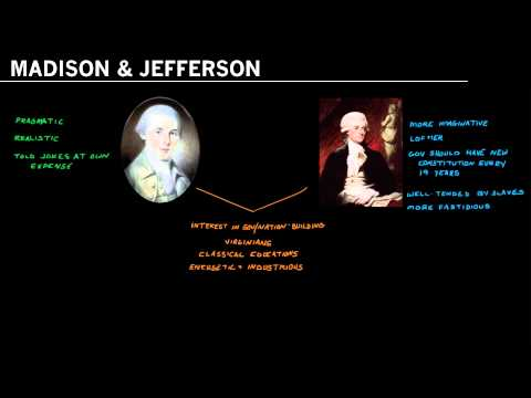 James Madison and Thomas Jefferson: Their friendship, Commonalities and Differences