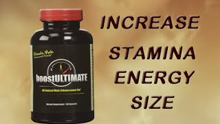 #1 Rated Testosterone Booster, supplements to increase testosterone in males, BoostUltimate
