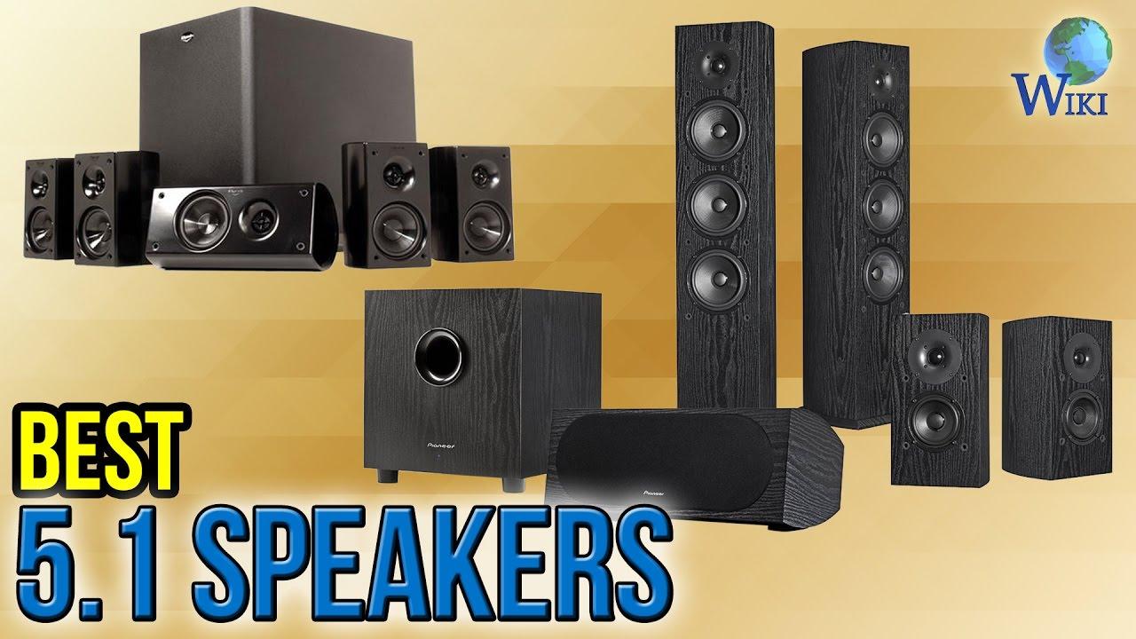 10 Best 5 1 Speakers 2017