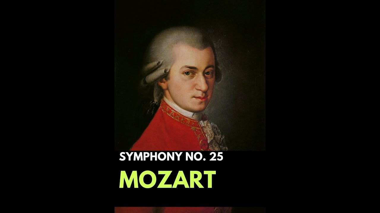 Classical Music Mozart Symphony No 25 In G Minor Amadeus