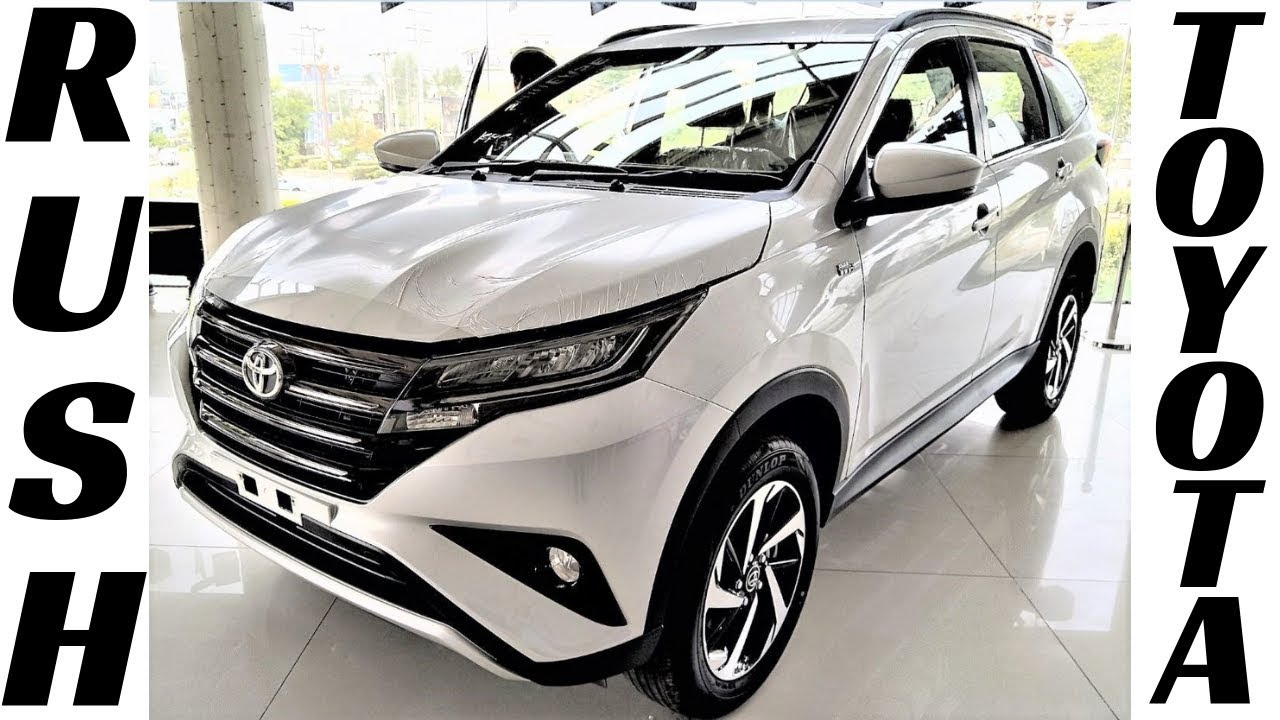 All New 2019 Toyota Rush 1 5 In Pakistan Exterior And Interior
