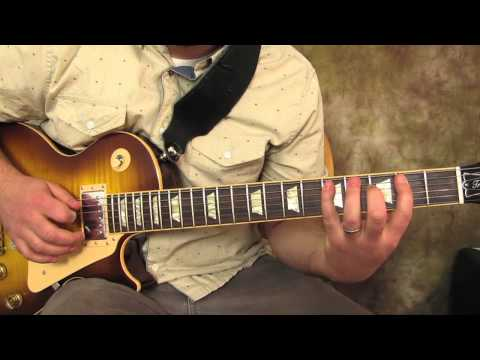 Led Zeppelin - Heartbreaker - How to Play the Main Riff - Guitar Lesson - Les Paul
