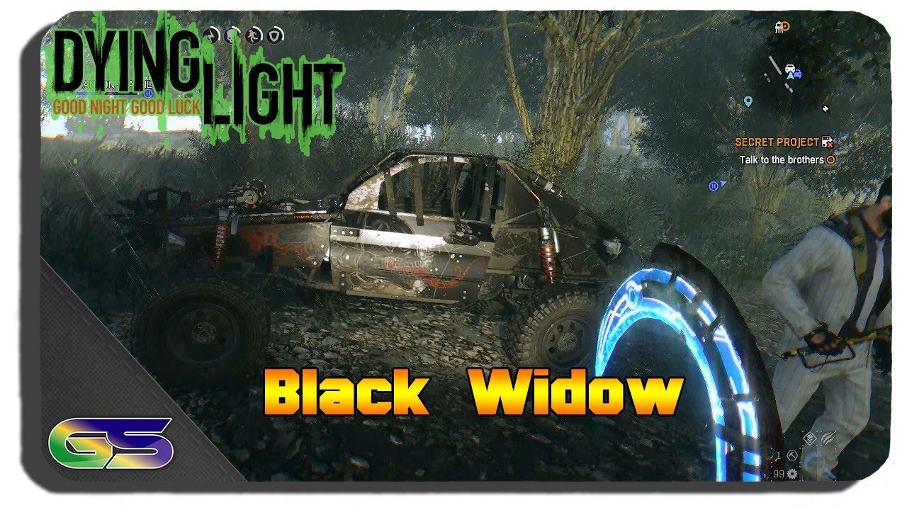 Black Widow Paint Dying Light