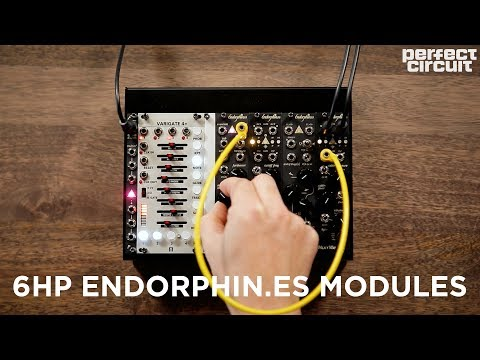 Endorphin.es 6HP Modules! Godspeed+, Squak Dirty, Airstreamer And Milky Way