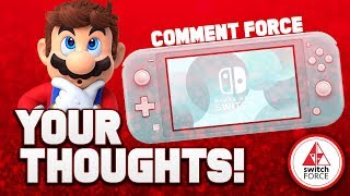 What DO YOU Think about Nintendo's New Switch Lite!? (Comment Force)