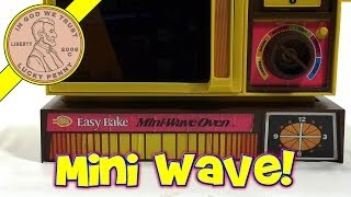 1978 Betty Crocker Easy Bake Mini Wave Oven, Kenner Toys - Brownies & Sugar Buttons!