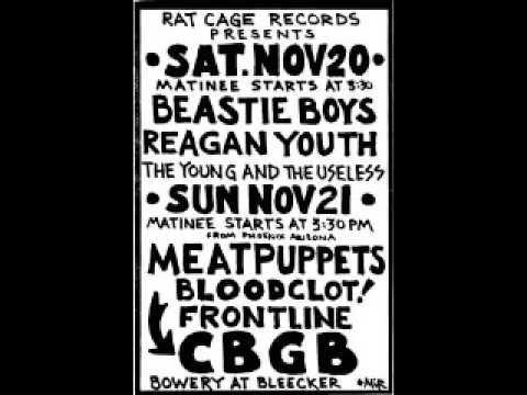 Beastie Boys - Live @ CBGB's, NYC, NY, 11/20/82 [SOUNDBOARD]