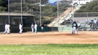 Shalin HR - SD Hustle vs CV Green Sox 04/15/12