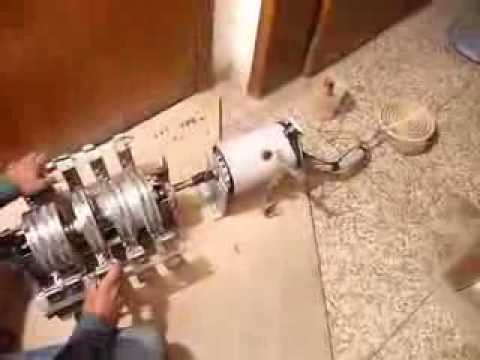 Magnetic Machine Which Produces Endless Mechanical And