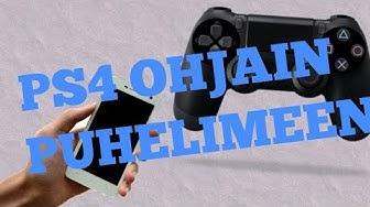 PS4 ohjaimen liittäminen puhelimeen