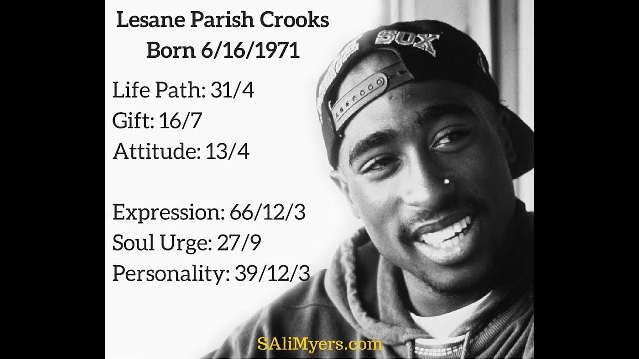 Tupac Shakur Numerology Chart Breakdown Youtube