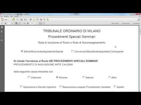 Giuffrè Editore - Processo Telematico - Tutorial 3