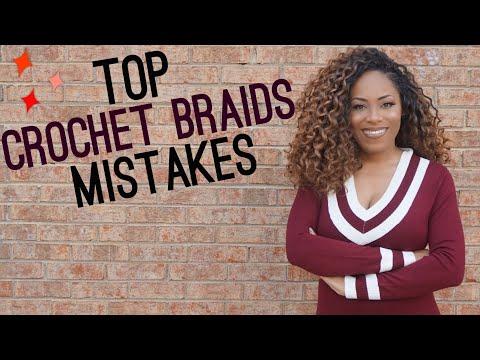 TOP 8 CROCHET BRAID MISTAKES|  LIA LAVON