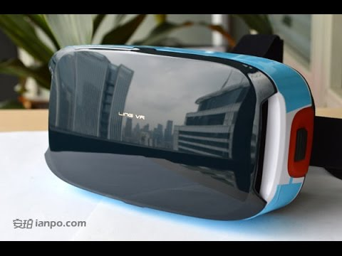 China made 3D VR headset LingVR T
