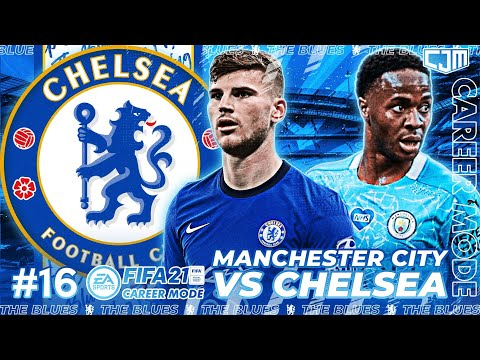 FIFA 21 Chelsea Career Mode | DRAMA! Manchester City vs Chelsea! Kejamnya Etihad Stadium #16