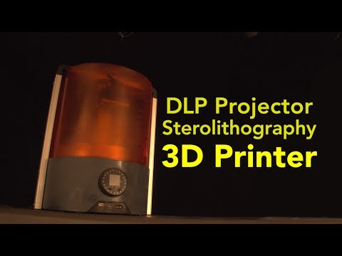 DLP Projector Sterolithography 3D Printer
