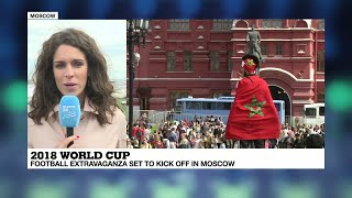 2018 World Cup: Russian supporters prepare for opening match