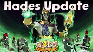 Gods Of Olympus | HADES UPDATE | SNEAK PEEK 1 [Monument, Temple, House Gameplay] Video